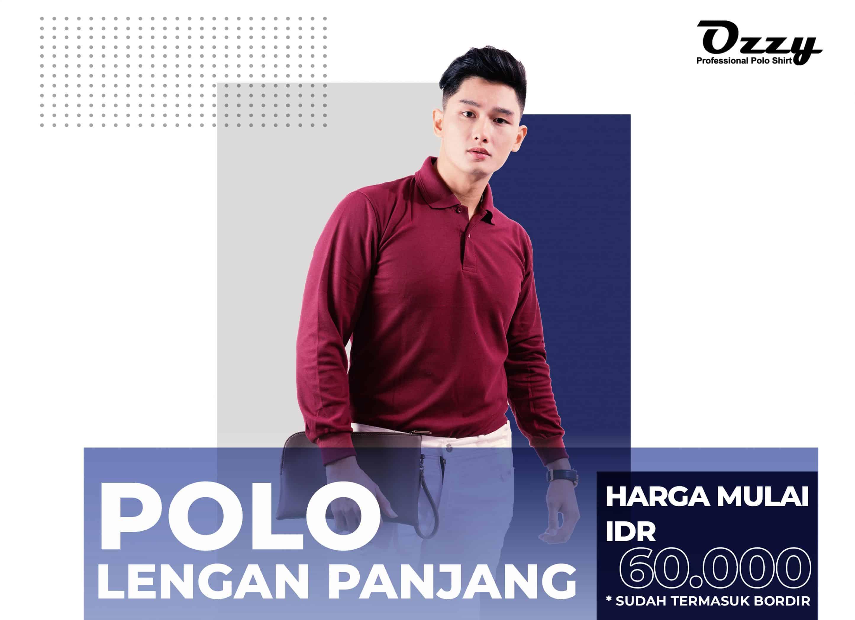 Kaos Polo Jogja Murah - Grosir Polo Jogja - Polos - Ozzy Clothing