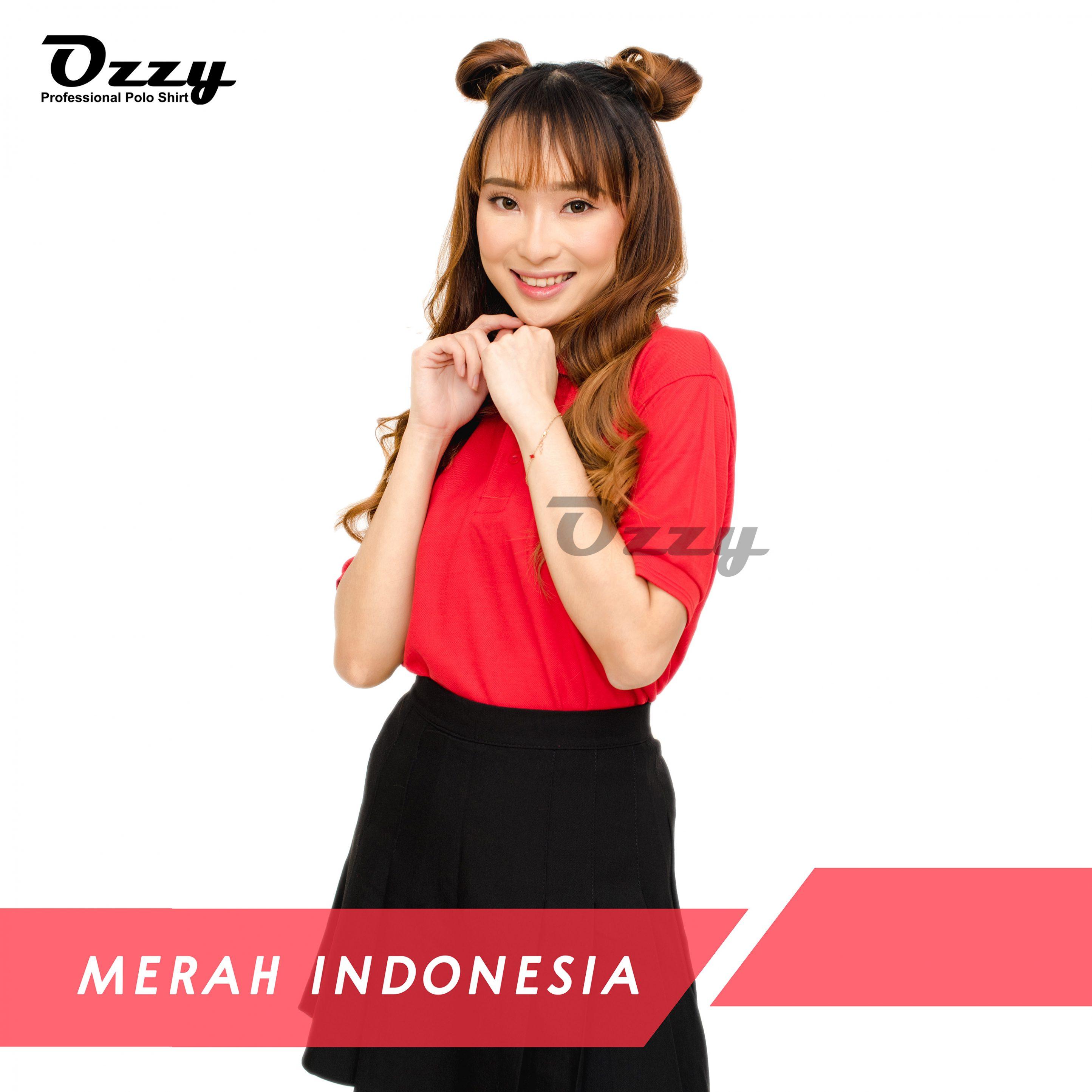 KAOS POLO JOGJA - MERAH INDONESIA (1-1)
