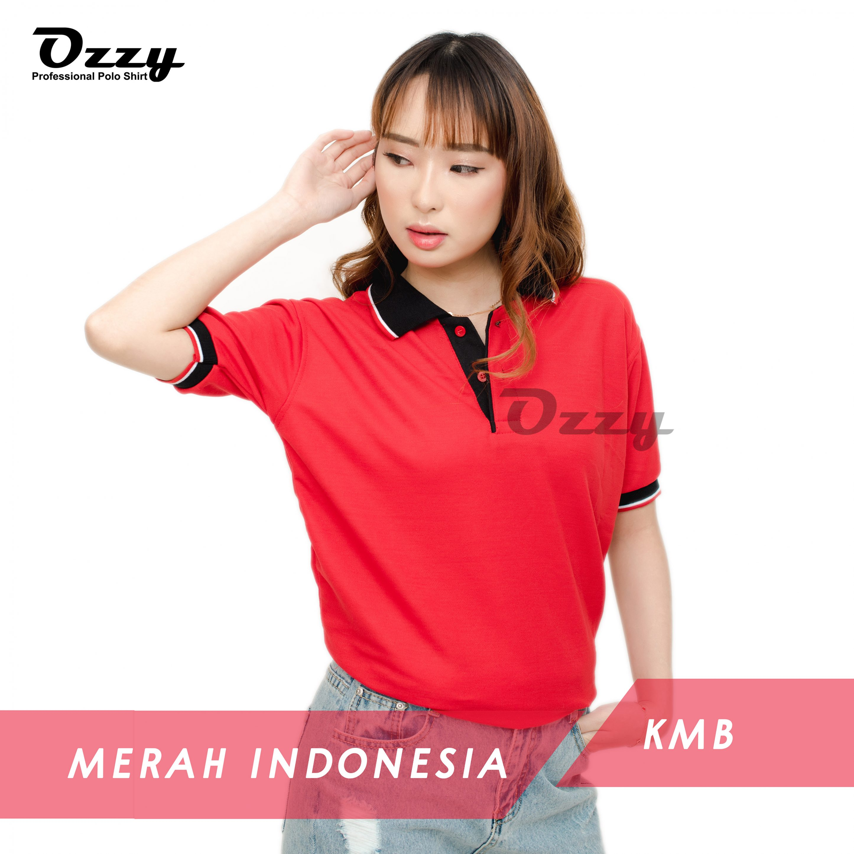 KAOS POLO JOGJA - MERAH INDONESIA KMB (1-2)
