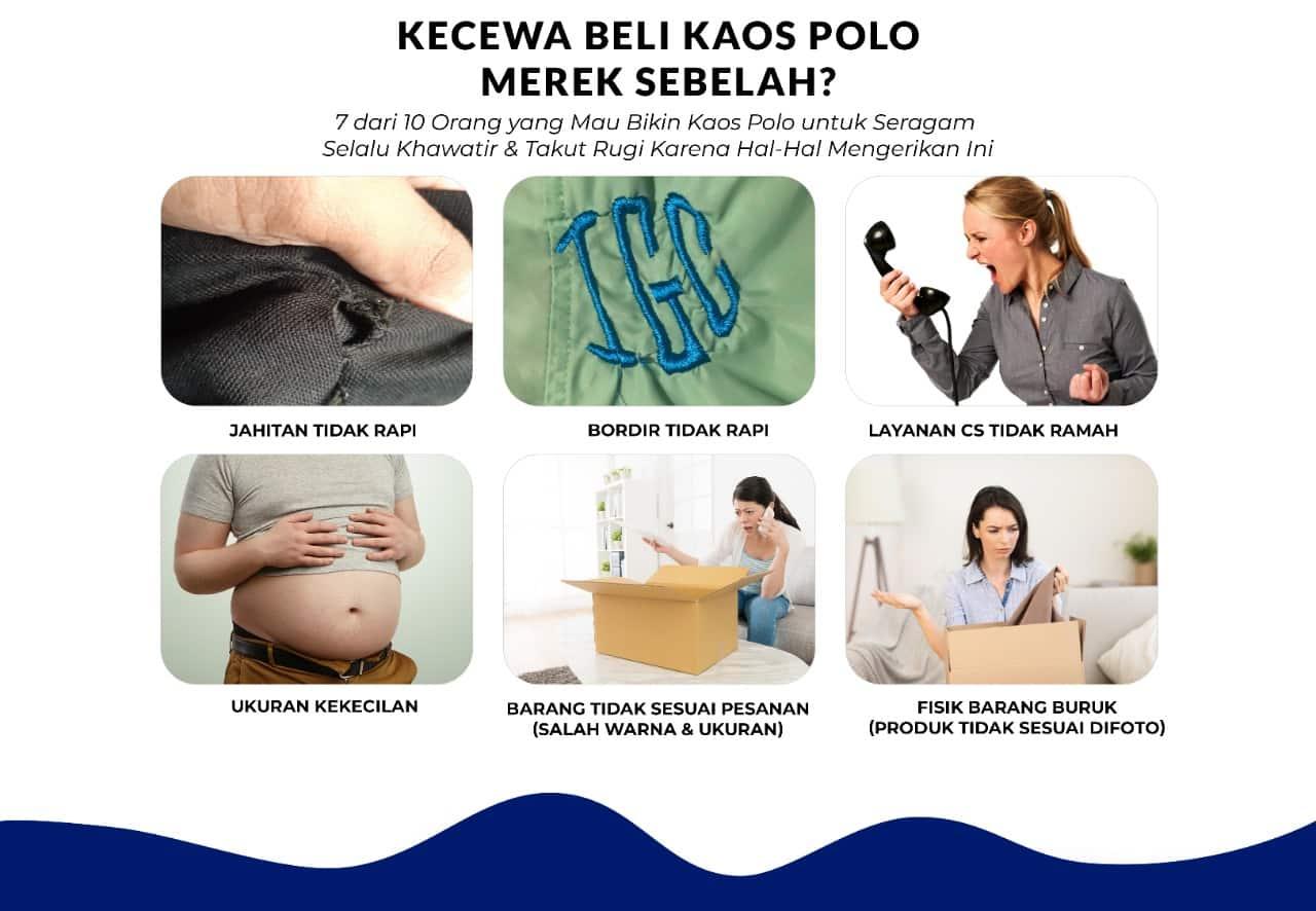 JUAL KAOS POLO JOGJA BERKUALITAS - OZZY CLOTH 1