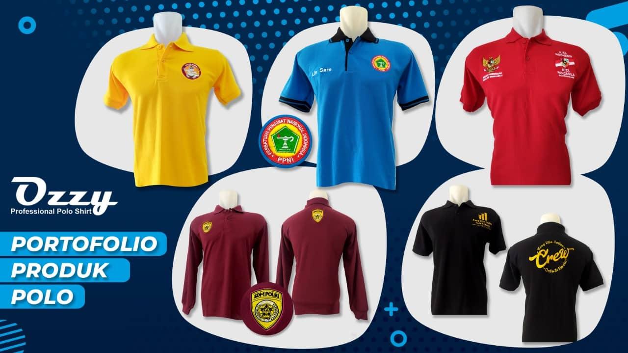 Portfolio Kaos Polo Jogja - Ozzy Cloth